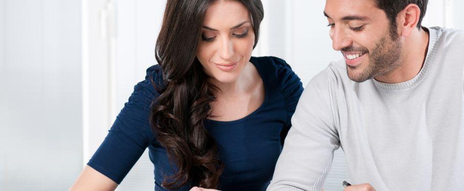 Die Einkommensteuertabelle für Singles und Verheiratete