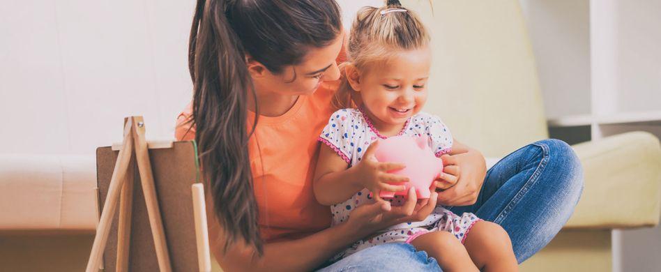 Sparen für Kinder: So sorgen Sie für den Nachwuchs vor