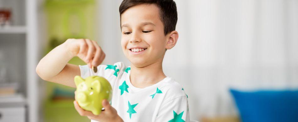 Taschengeld für Kinder: Sparen und den Umgang mit Geld lernen
