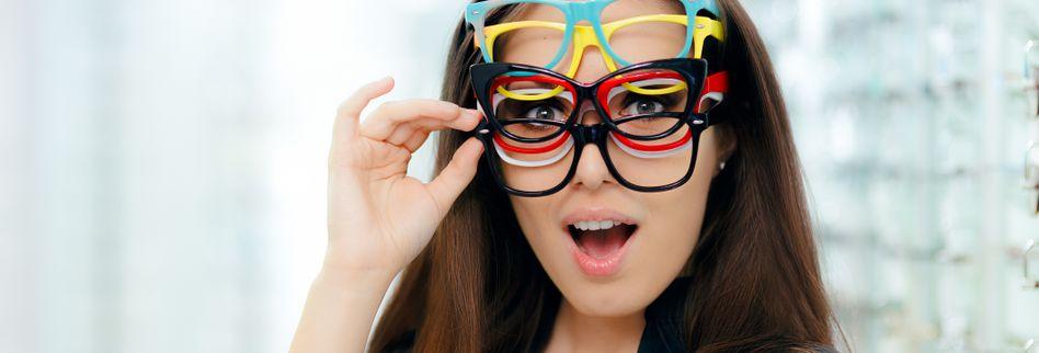 Den passenden Rahmen finden - die verschiedenen Brillenarten