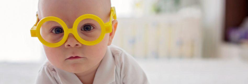Babybrille: Darauf sollten Sie bei der Brille für das Baby achten