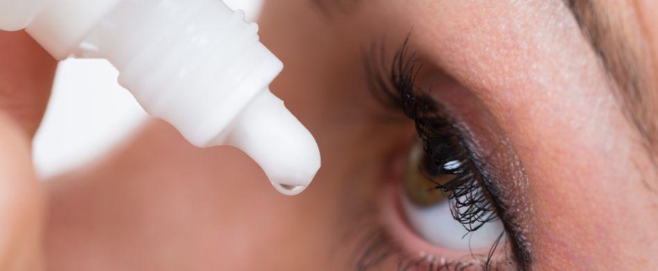 Trockene Augen: Ursachen und Hilfe