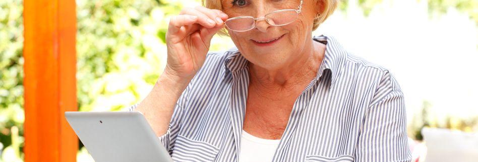 Alterssichtigkeit: Wenn die Augen altern
