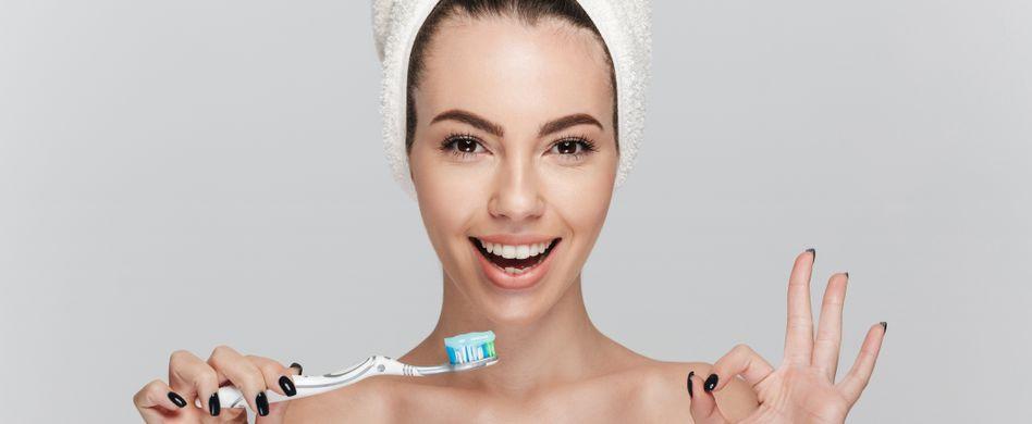 So putzen Sie Ihre Zähne richtig