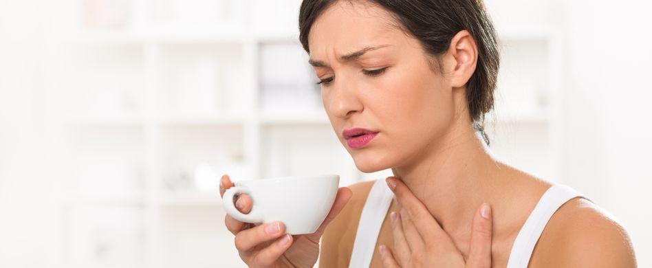 Halsschmerzen lindern: 5 Hausmittel, die helfen