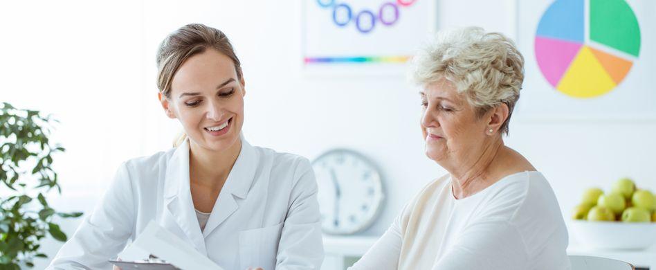 Anleitung für Ihren Arztbesuch: Wieder zu Hause