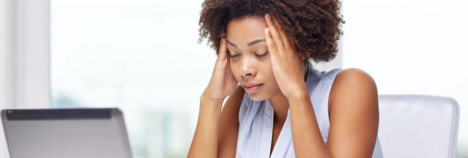 Druck im Kopf: 3 mögliche Ursachen