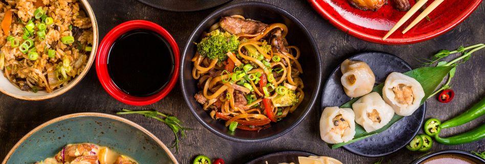 Der Geschmacksverstärker Glutamat kommt in asiatischen Speisen häufig zum Einsatz.