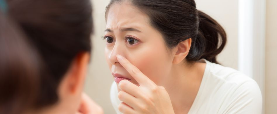Was ist ein Nasenfurunkel? Ursachen & Behandlung der Entzündung