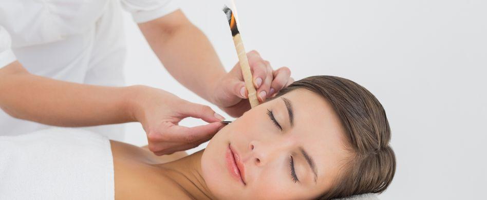 Ohrenkerzen richtig anwenden: Was Sie auf jeden Fall beachten sollten