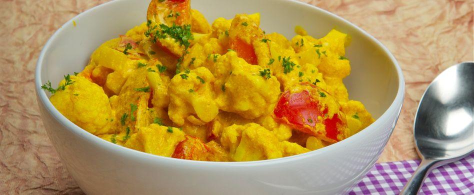 Blumenkohl-Kartoffel-Curry