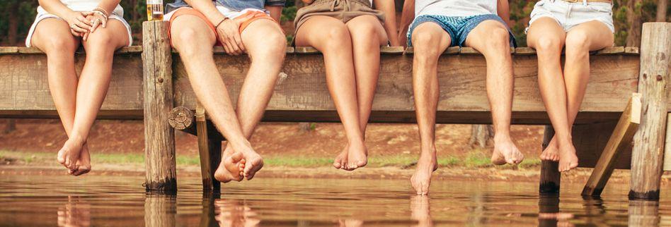 Geschwollene Beine: Ursachen und Behandlung