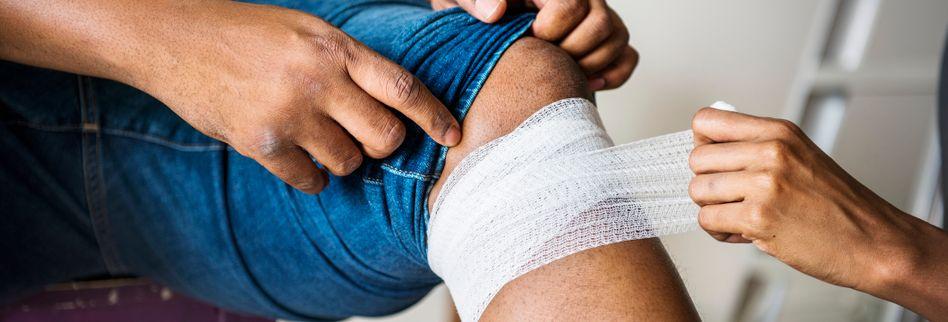 Bandage oder Tape - was hilft am besten?