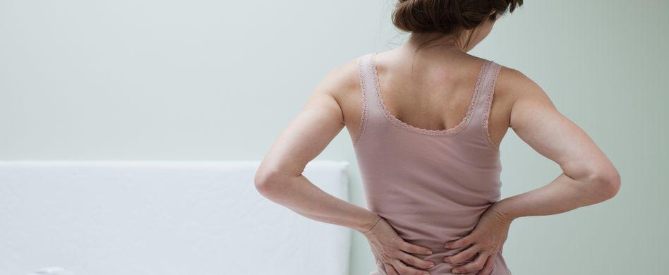 Rückenschmerzen: Sie können viel selbst tun