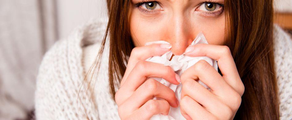 Die Symptome der Grippe im Sommer