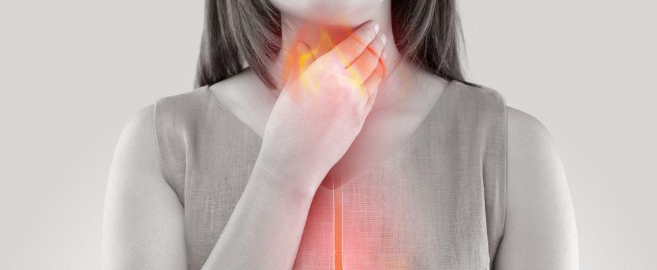 Speiseröhrenkrebs vorbeugen: Sodbrennen immer behandeln