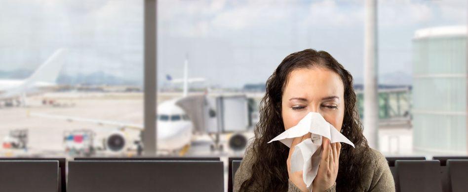 Mit diesen 4 Krankheiten dürfen Sie nicht fliegen