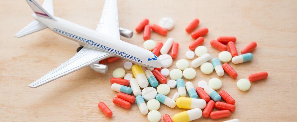 Krank auf der Reise: Das sind die häufigsten Reisekrankheiten