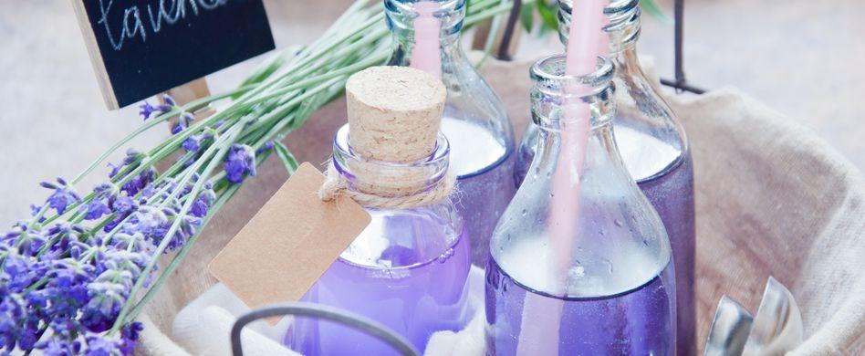 Lavendel Limonade: Natürliche Hilfe gegen Kopfschmerzen und Angstzustände
