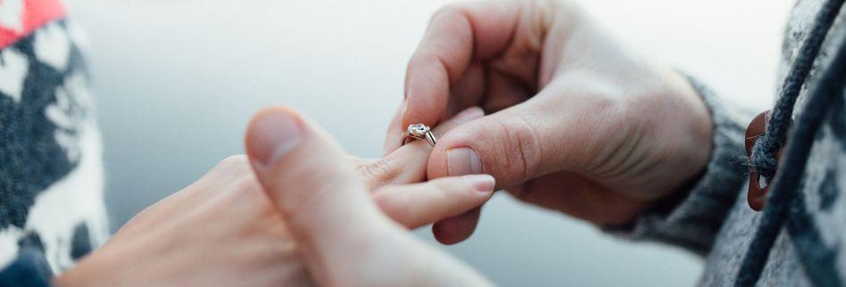 Die Hochzeit: Alles beginnt mit einem Heiratsantrag