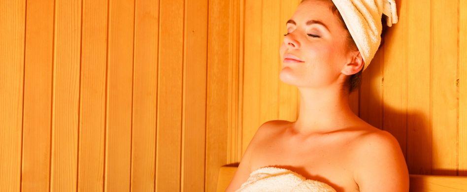 In der Sauna abnehmen: Funktioniert das?
