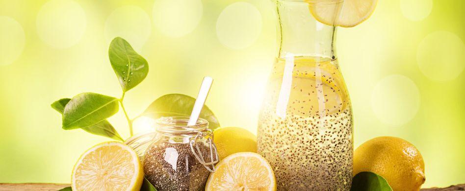 Chia-Samen-Wasser: Warum das Getränk ideal zum Abnehmen ist