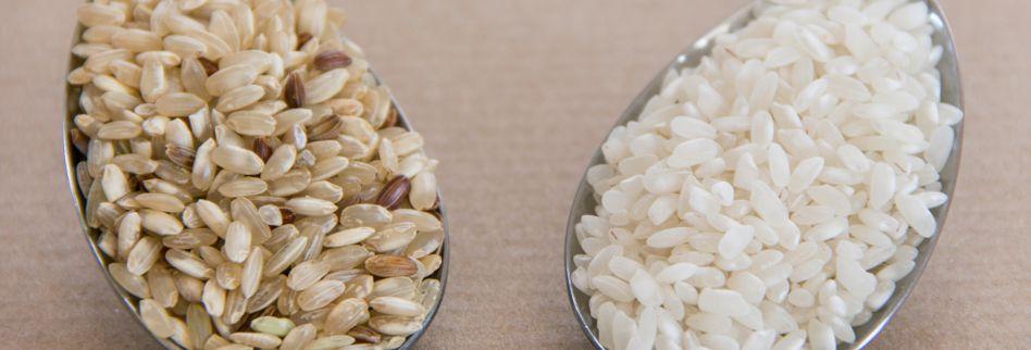 Weißer Reis und Diät