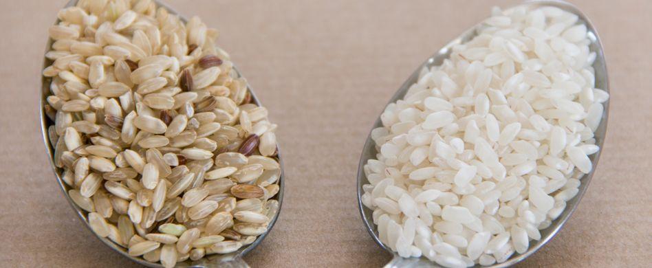 Brauner Reis oder weißer Reis: Was ist gesünder?