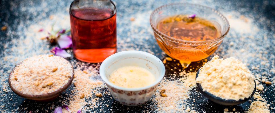 Gesichtspflege mit Mehl oder mit Roggenmehl: So können Sie Getreide in Ihr Beautyprogramm integrieren