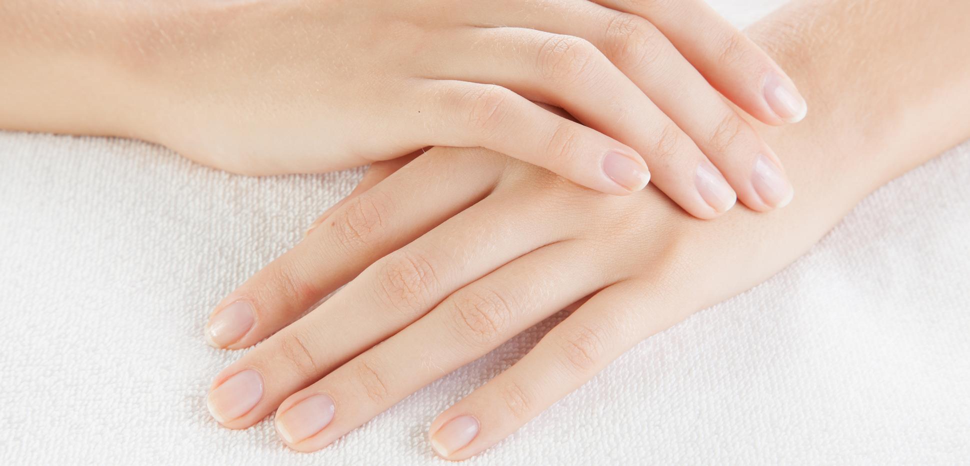 Geht ab fingernagel Fingernagel eingerissen: