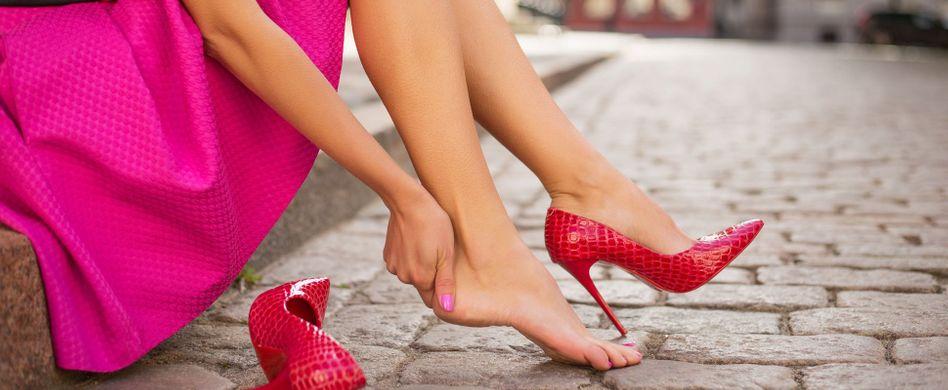 Blase am Fuß behandeln: Darauf kommt es an