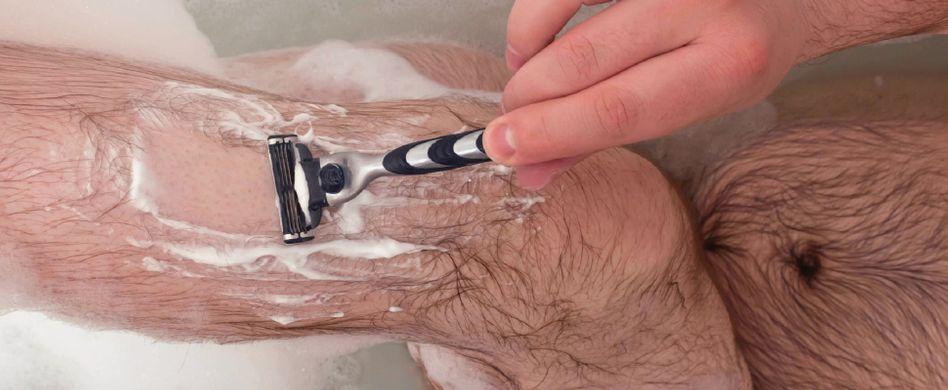 Beine rasieren als Mann? Aber klar!