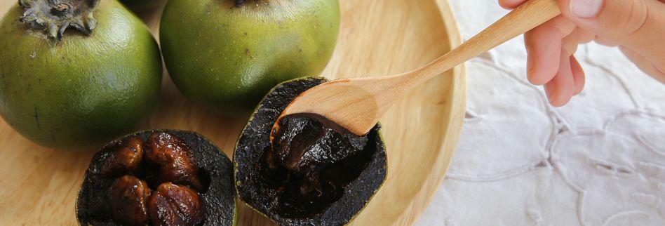 Schwarze Sapote: Diese Frucht schmeckt nach Schokopudding