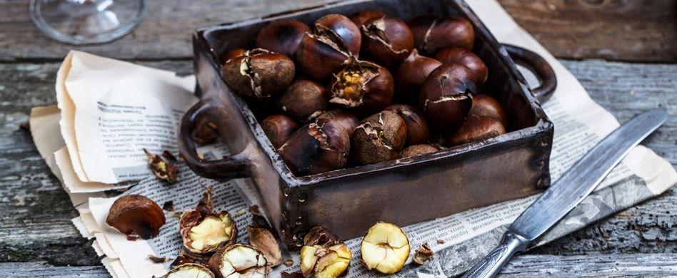 Esskastanien zubereiten: So werden Maronen richtig lecker