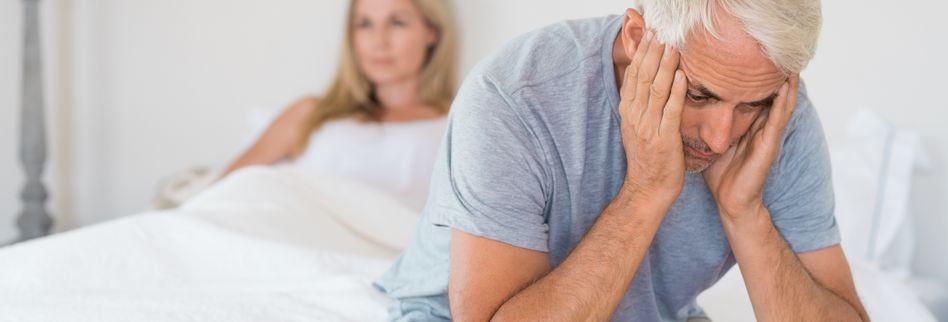 Impotenz beim Mann: Ursachen und Hilfe