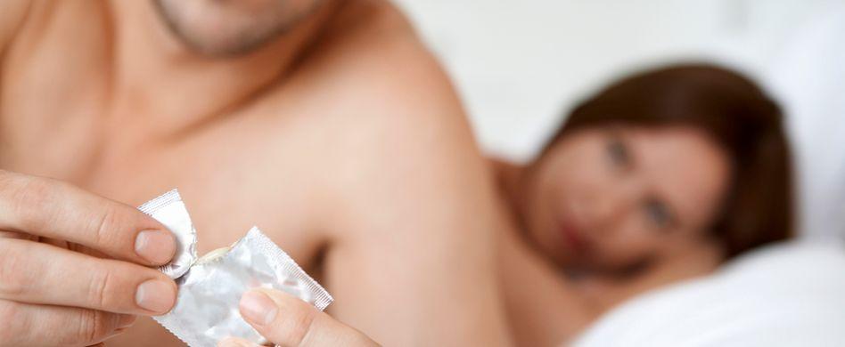 Richtig kondom Kondom falsch