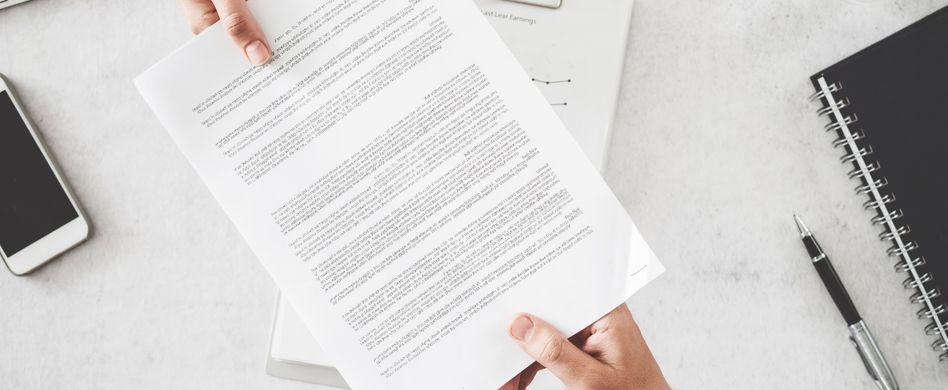 Erhaltenen Arbeitsvertrag doch noch ablehnen: Geht das?