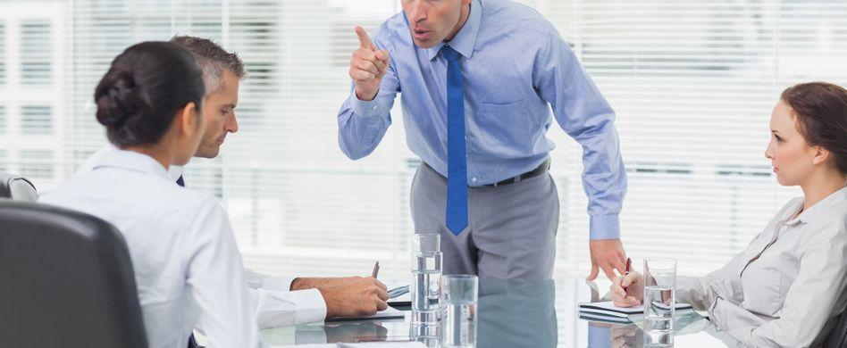 Welchen Chef haben Sie? Fünf Typen, die jeder kennt