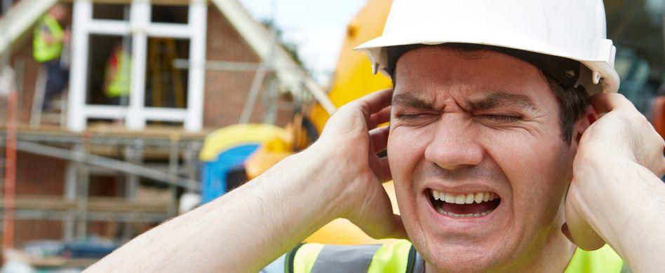 Wie viel Baustellenlärm müssen Anwohner akzeptieren?