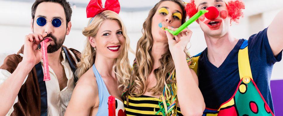 Karneval & Co.: Was ist rechtlich erlaubt?