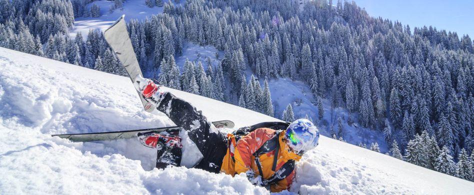 Wer haftet bei Skiunfällen?