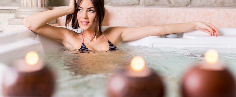 Wellness-Bad: So tun Sie Ihrem Körper etwas Gutes