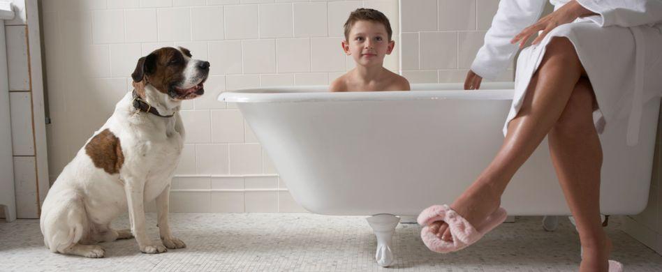 Das Familienbad: Spaß und Komfort