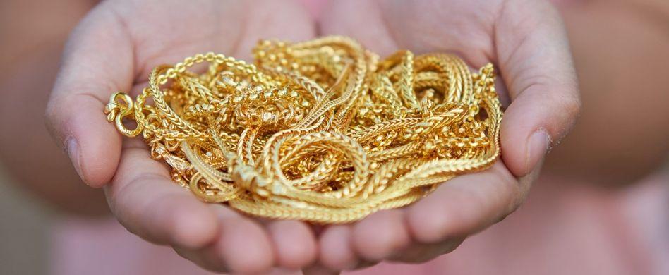 Gold reinigen: So gehts ganz leicht