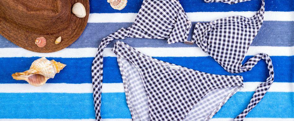 Bikini waschen: 4 Tipps, wie Sie die Swimwear richtig säubern