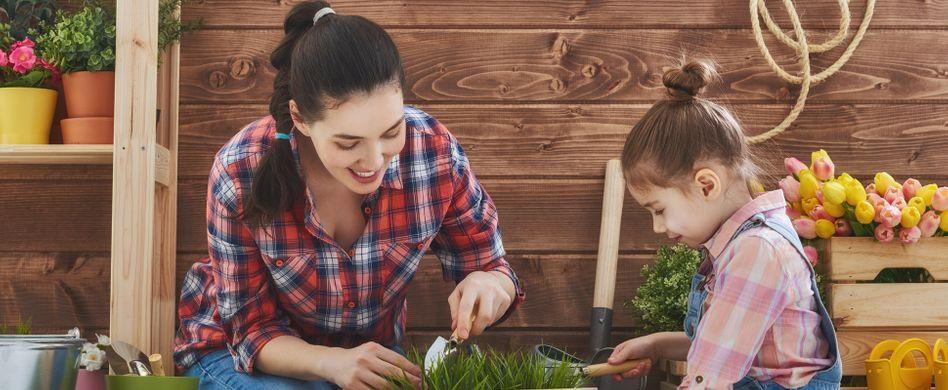 Garten für Kinder: 5 Ideen für kindgerechtes Gärtnern