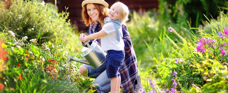Kinder für den Garten begeistern: Spielerisch die Natur entdecken