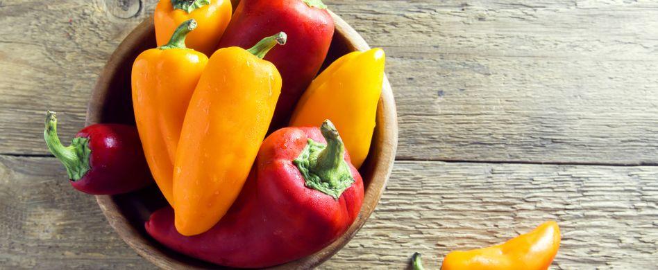 Paprika pflanzen: So ziehen Sie die Schoten selber
