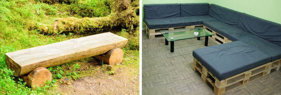 Gartenbank selber bauen: Kreative Ideen für die Sitzbank