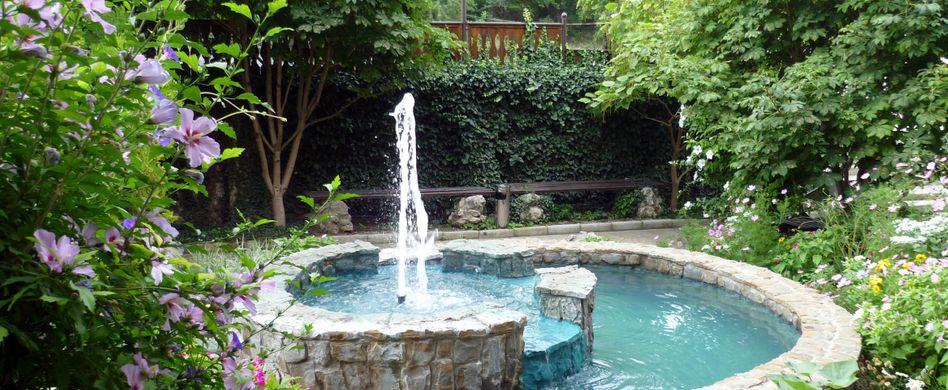 Springbrunnen im Garten: Bewusst auswählen und planen